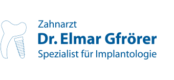 Zahnarzt Dr. Elmar Gfrörer